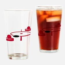 Air hockey Drinking Glass
