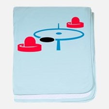 Air hockey baby blanket
