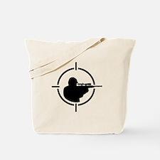 Airsoft crosshairs Tote Bag