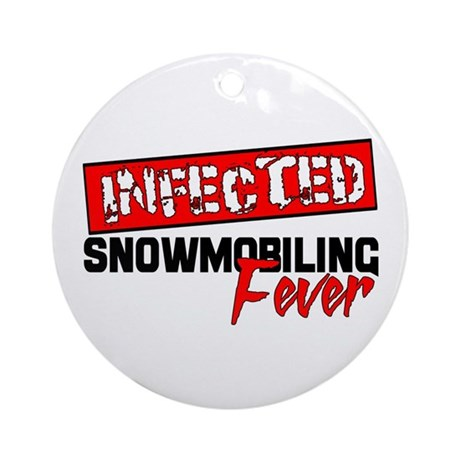 Infected Ornament (Round)