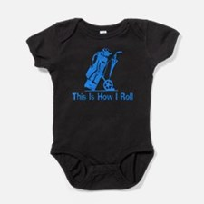 Cute Grandpa golf Baby Bodysuit