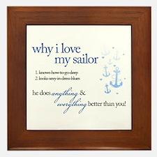 Why I Love My Sailor Framed Tile
