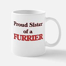 Proud Sister of a Furrier Mugs
