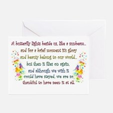 Butterfly Quote Greeting Cards (Pk of 10)