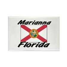 Marianna Florida Rectangle Magnet