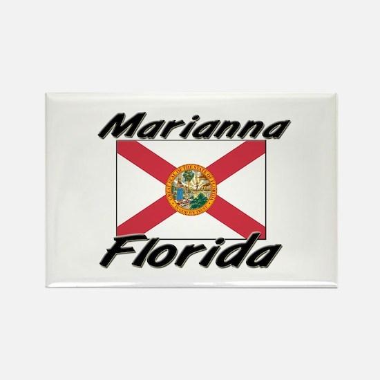 Marianna Florida Rectangle Magnet
