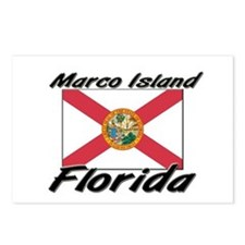Marco Island Florida Postcards (Package of 8)