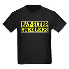 Eat Sleep Steelers T