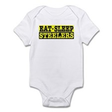 Eat Sleep Steelers Onesie