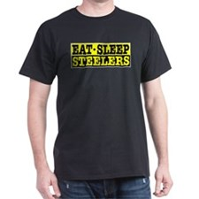 Eat Sleep Steelers T-Shirt
