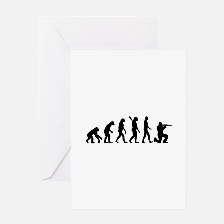 Evolution Airsoft Greeting Card