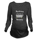 Bathing Beauty Long Sleeve Maternity T-Shirt