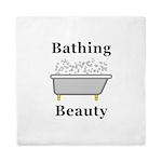 Bathing Beauty Queen Duvet