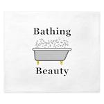 Bathing Beauty King Duvet