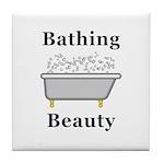 Bathing Beauty Tile Coaster