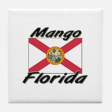 Mango Florida Tile Coaster