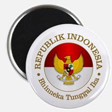 Indonesia (rd) Magnets