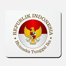 Indonesia (rd) Mousepad