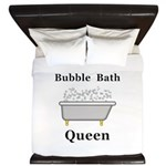 Bubble Bath Queen King Duvet