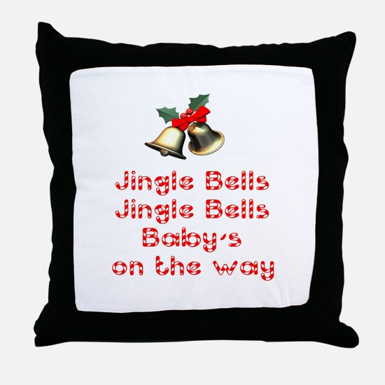 Christmas Baby Throw Pillow