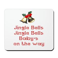 Christmas Baby Mousepad