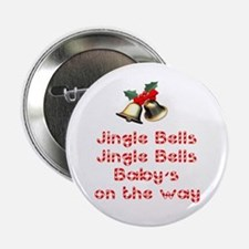 Christmas Baby Button
