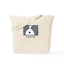 Anime Bearded Collie Tote Bag