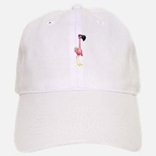 Funny Tropical Flamingo Baseball Baseball Cap