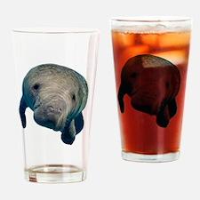 Unique Manatee Drinking Glass