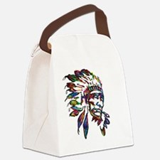 Cute Native americans Canvas Lunch Bag