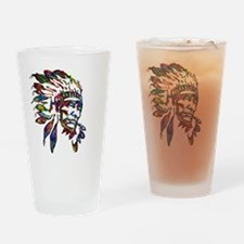 Funny Chief joseph Drinking Glass