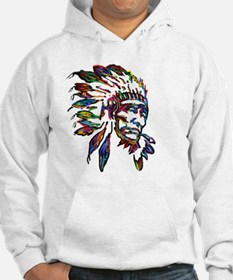 Cute Native american chief Hoodie