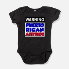 Cute Puerto rican newborn Baby Bodysuit