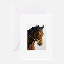 Seattle Slew Greeting Cards