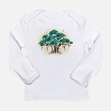 Cute Yoga tree Long Sleeve Infant T-Shirt