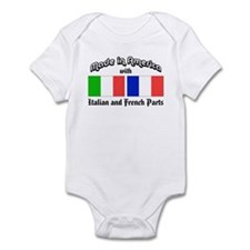 Italian-French Parts Infant Bodysuit