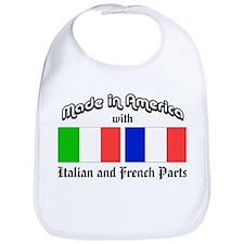 Italian-French Parts Bib