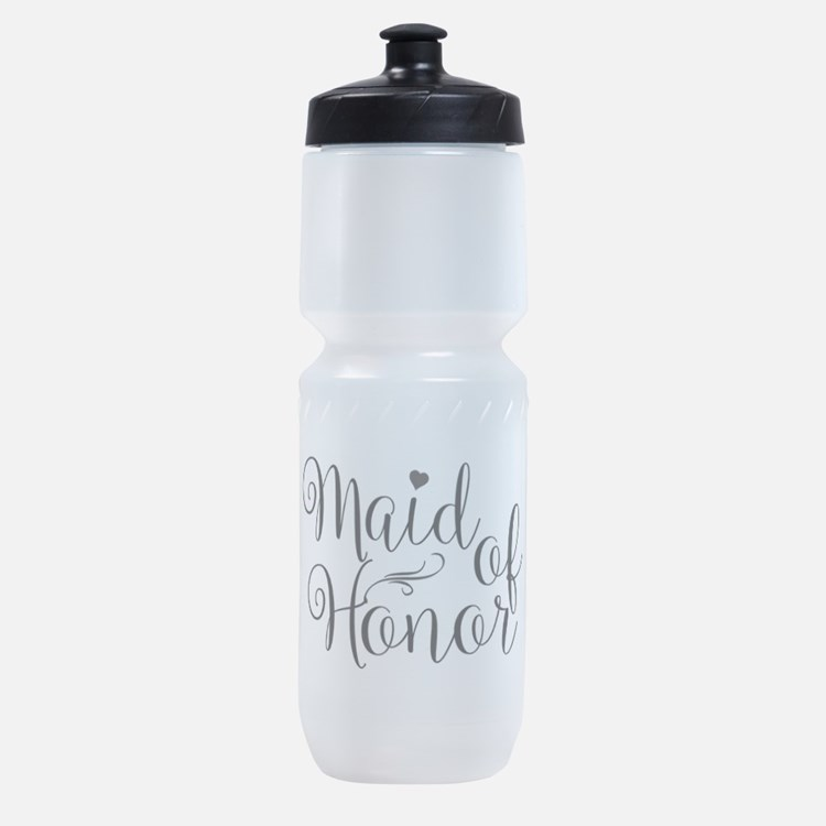 Cute Maid of honor Sports Bottle