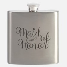 Funny Matron of honor Flask