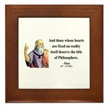 Plato 8 Framed Tile