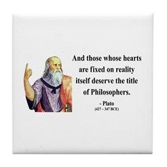 Plato 8 Tile Coaster