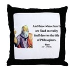 Plato 8 Throw Pillow