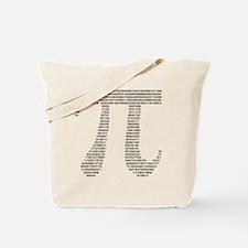 pi in numbers Tote Bag