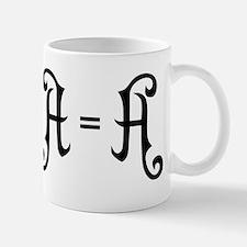 A is A Mugs