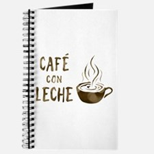cafe con leche Journal