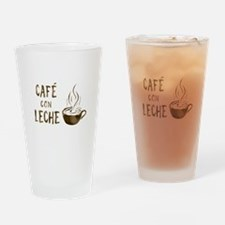 cafe con leche Drinking Glass