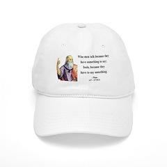 Plato 9 Baseball Cap