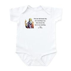 Plato 9 Infant Bodysuit