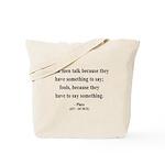 Plato 9 Tote Bag
