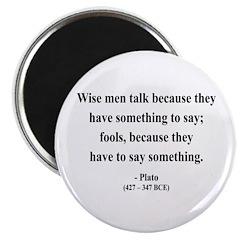 """Plato 9 2.25"""" Magnet (100 pack)"""